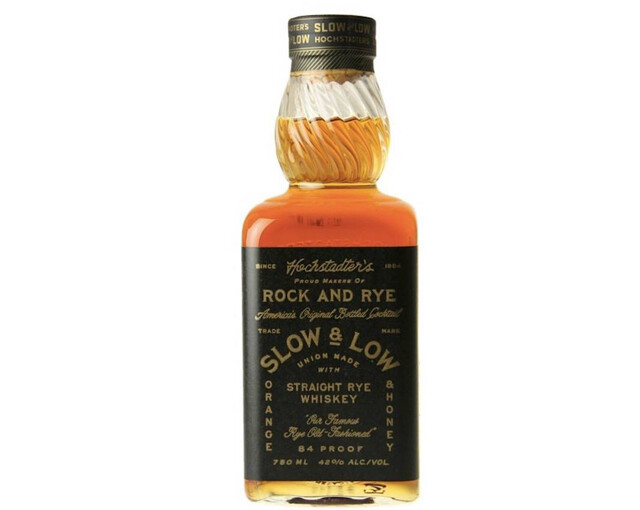 Hochstadter's Slow & Low 84-pf Rock And Rye 750ml