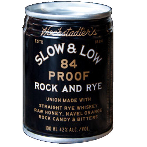 Hochstadter's Slow & Low 84-Pf Rock And Rye 100ml can