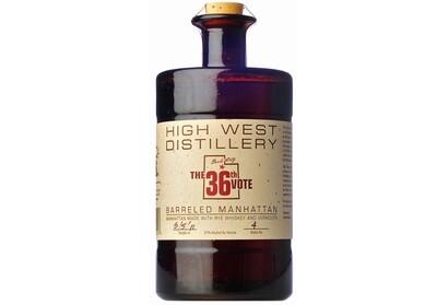High West Distillery, The 36th Vote Barreled Manhattan - 750ml