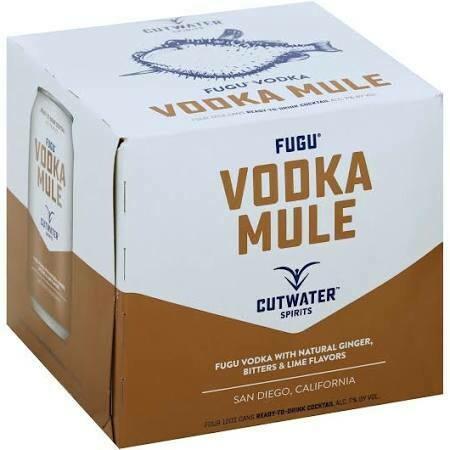 Cutwater Vodka Mule 4-pack cans