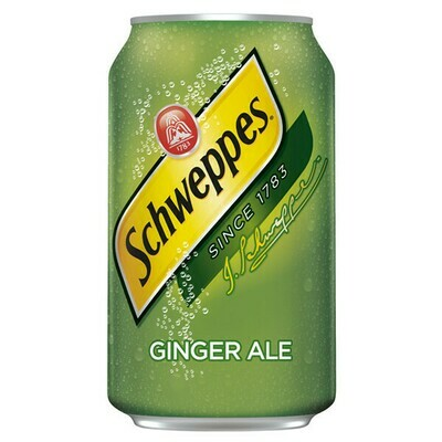 Schweppes Ginger Ale 12-pack Cans