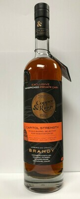 Copper & Kings Capitol Strength Brandy - 750ml