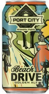 Port City Beach Drive Golden Ale 6-pack cans