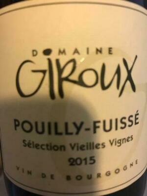 Giroux Pouilly Fuisse 2016