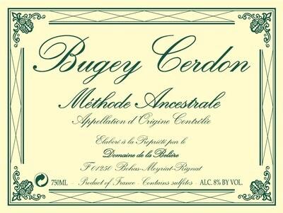Domaine de la Beliere Bugey Cerdon