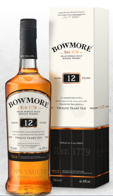 Bowmore 12-year Scotch Malt Whisky - 750ml