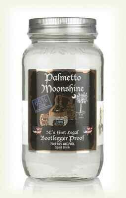 Palmetto Moonshine Bootlegger Proof 130 proof