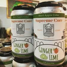 Supreme Core Cider Ginger Lime 4-pack
