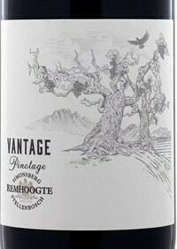 Remhoogte Pinotage Vantage 2018