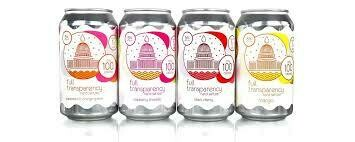 Full Transparency by DC Brau Variety Pack 12 pack cans