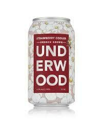 Underwood Strawberry Cooler 12oz Can