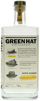 New Columbia Distillers Green Hat Citrus/ Floral Gin - 750ml