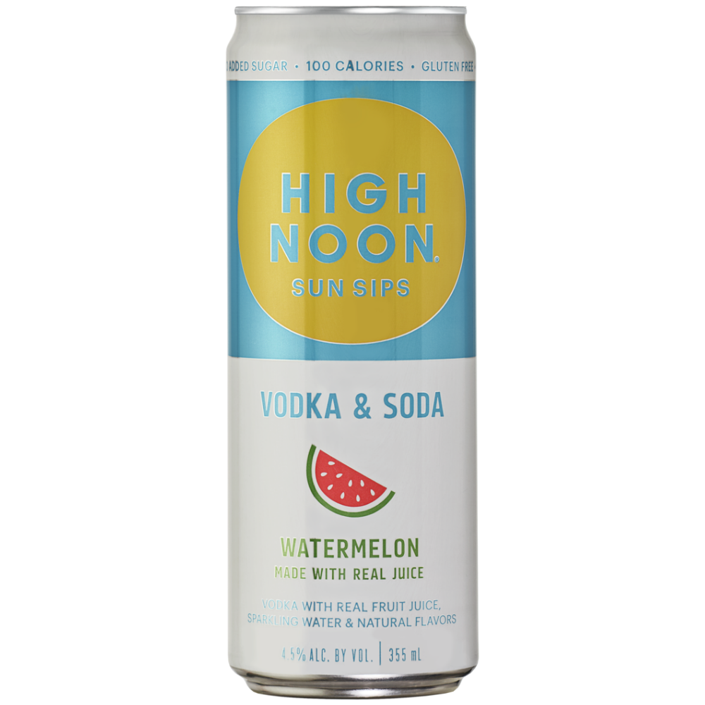 High Noon Watermelon 4-pack cans