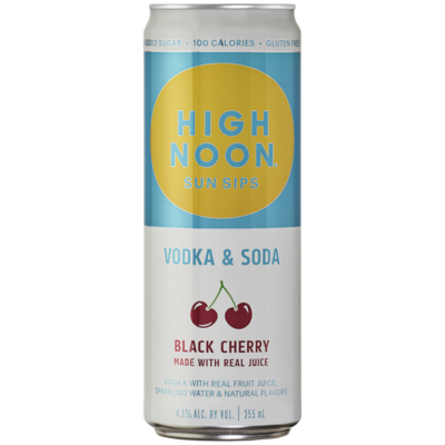 High Noon Black Cherry 4-pack Cans