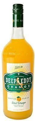 Deep Eddy Orange Vodka Liter
