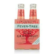 Fever Tree Sparkling Pink Grapefruit - 200ml 4-pk