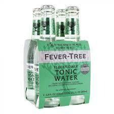 Fever Tree Elderflower Tonic Water - 200ml 4-pk