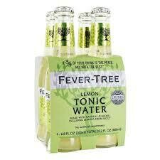 Fever Tree Lemon Tonic Water - 200ml 4-pk