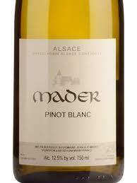 Mader Pinot Blanc 2018