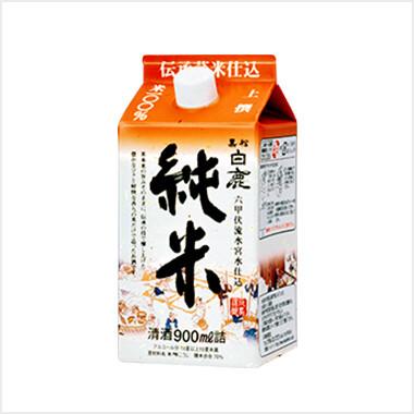 Kuromatsu-Hakushika Junmai Sake 900ml Carton