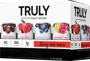 Truly Berry Mix Pack Hard Seltzer 12-pack cans