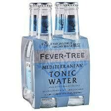 Fever Tree Mediterranean Tonic Water 200ml 4-Pack