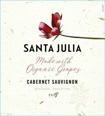 Santa Julia Cabernet Sauvignon Organica 2019