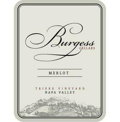 Burgess Napa Valley Merlot 13 *SALE*
