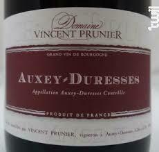 Vincent Prunier Auxey-Duresses 1er Cru 2013