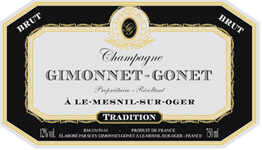 Champagne Gimonnet Gonet Tradition NV *CLOSEOUT*
