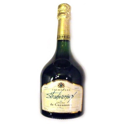 Champagne Charles de Cazanove Stradivarius Brut 2000 *CLOSEOUT*
