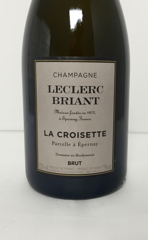 Champagne Leclerc Briant La Croisette Brut Parcel a Epernay NV *CLOSEOUT*