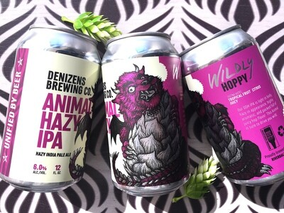 Denizens Brewing Co. Animal Hazy IPA 6-pack