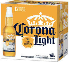 Corona Light 12-pack Bottles