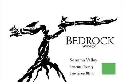 Bedrock Sauvignon Blanc Sonoma Valley 2019