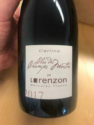 Lorenzon Mercurey 1er Cru Champs Martin 2017