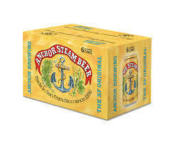 Anchor Steam 6-pack cans