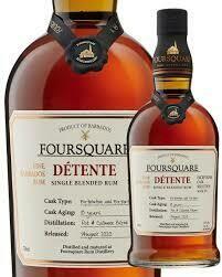 Foursquare Detente Single Blended Rum  (Exceptional Cask Selection)