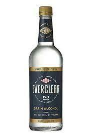 Everclear 190 Proof Grain Alcohol 750ml