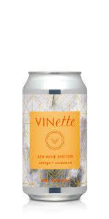 VINette Orange Cardamom Red Wine Spritzer 375ml can