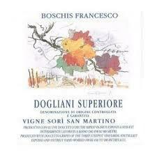 Fracesco Boschis Dogliani Superiore Vigne Sori San Martino 2016