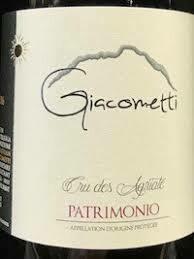 Domaine Giacometti Patrimonio Blanc Cru des Agriate 2018