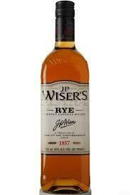 J.P. Wiser's Canadian Rye 750ml