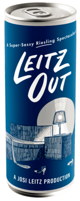 Leitz Out Canned Riesling 250ml