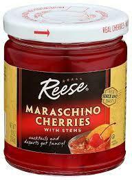 Reese Maraschino Cherries - 10oz