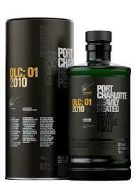 Bruichladdich Port Charlotte OLC: 01 2010 Single Malt Scotch Whisky