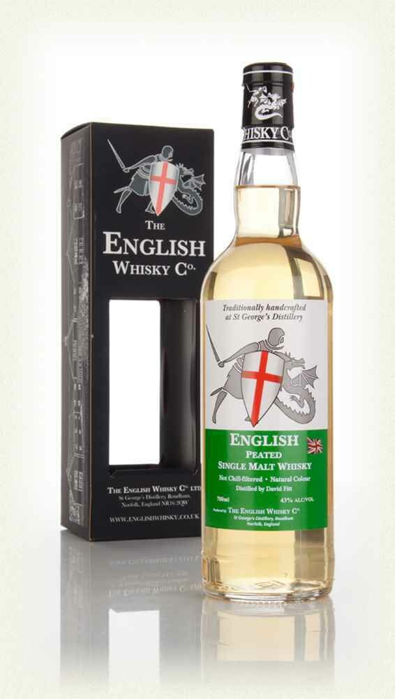 English Whisky Co. Peated Malt