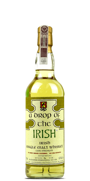 A Drop of the Irish Irish Single Malt Cask Strength Whiskey 750ml