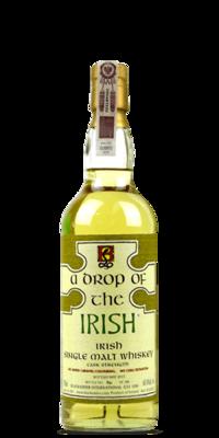 A Drop of the Irish Irish Single Malt Cask Strength Whiskey 750ml