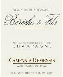Bereche et Fils Champagne Brut Rose Campania Remensis NV15